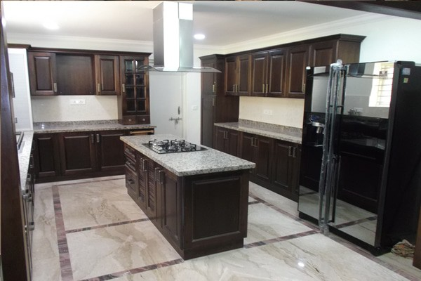 Modular Kitchen with island Chennai