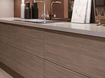 Cabinets with Matt Finish