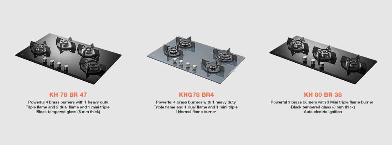 KAFF Built-in Hob at Hoop Pine Chennai