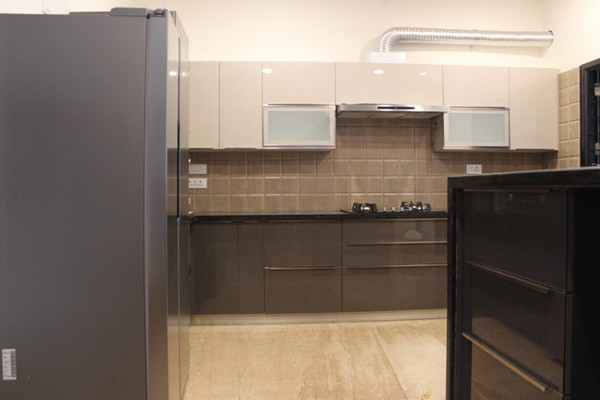 Glossy modular kitchen Chennai