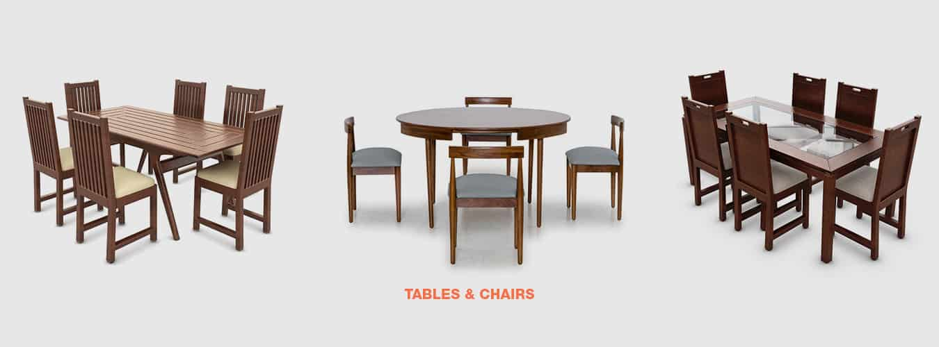 Dining table and chairs Chennai