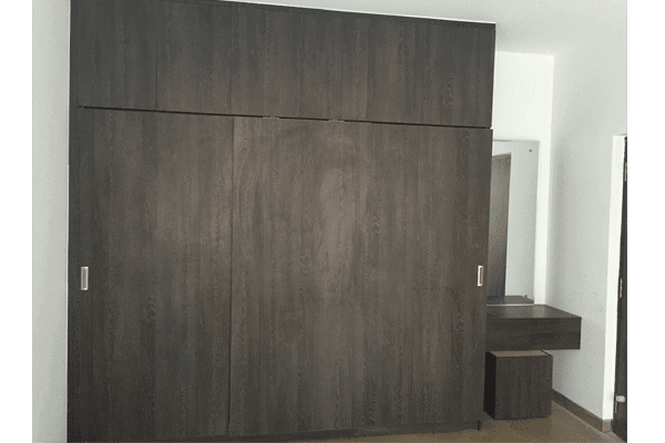 Sliding wardrobe Matt finish