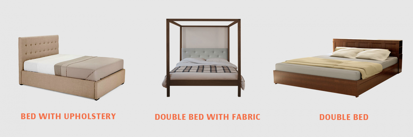 Double-Bed-with-Fabric Chennai