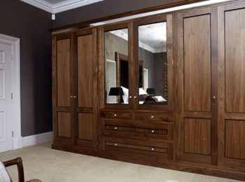 Wood wardrobe Finishes