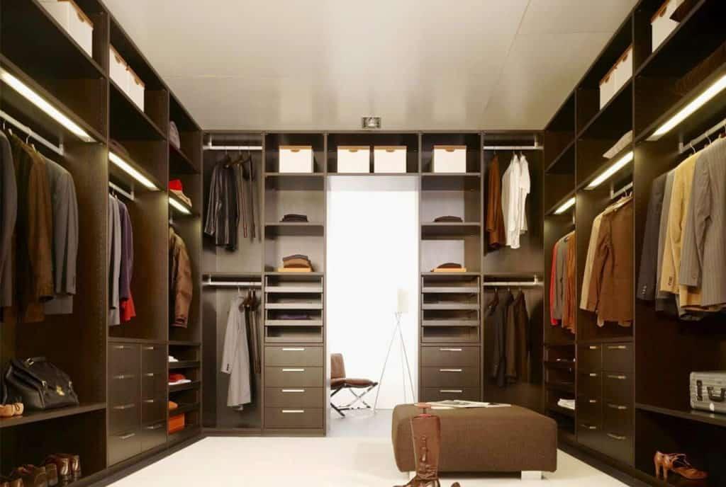 Wardrobe designed for Men
