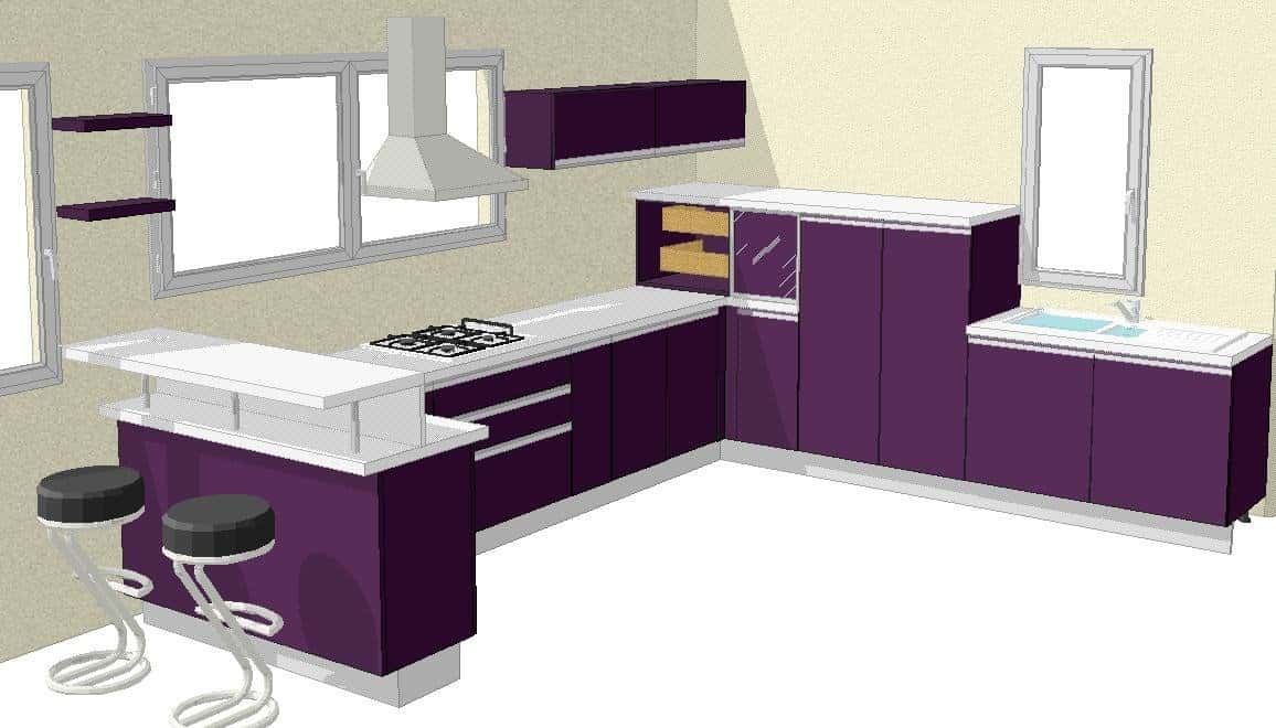 MODULAR & SEMI-MODULAR KITCHEN