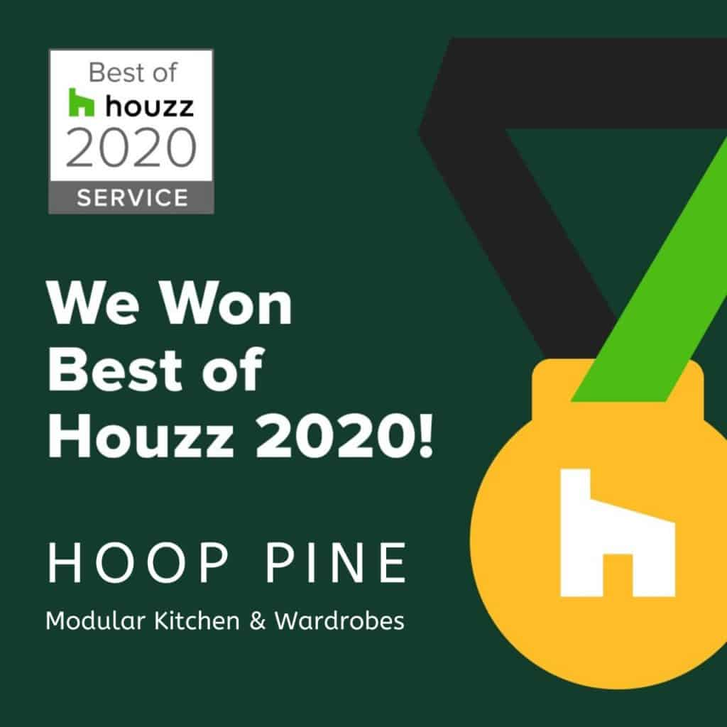 Customer Service Award by Houzz