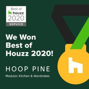 Customer Service Award by Houzz