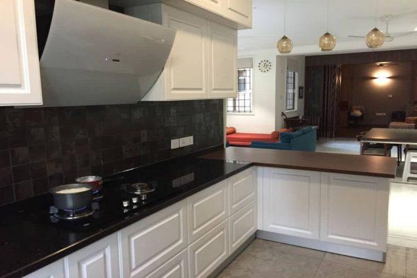 Modular Kitchen in Classic white Chennai