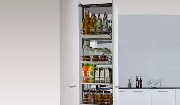 Kitchen accessory tall cabinet